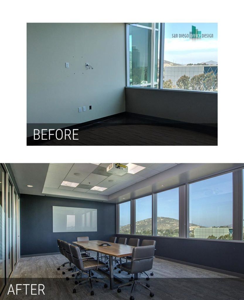 Before and After - Chalice Conference Room